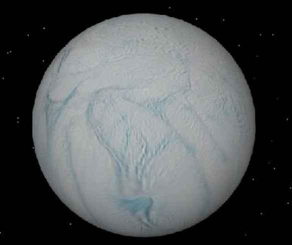 Acqua Oceano Saturno Nasa