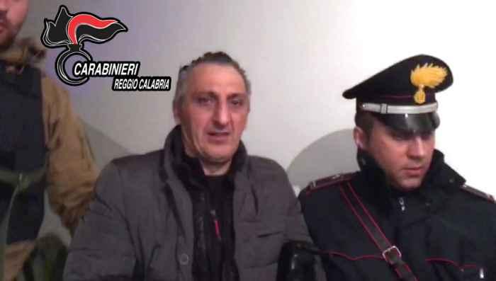 L'arresto del latitante Giuseppe Facchineri