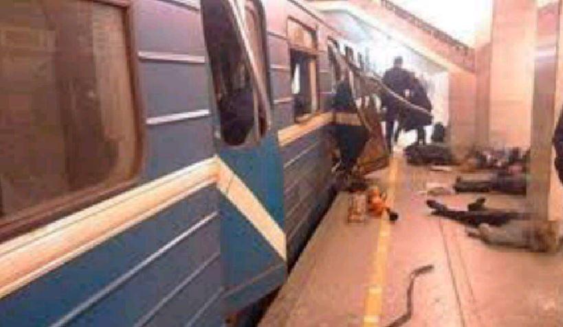 Attacco stazione San Pietroburgo