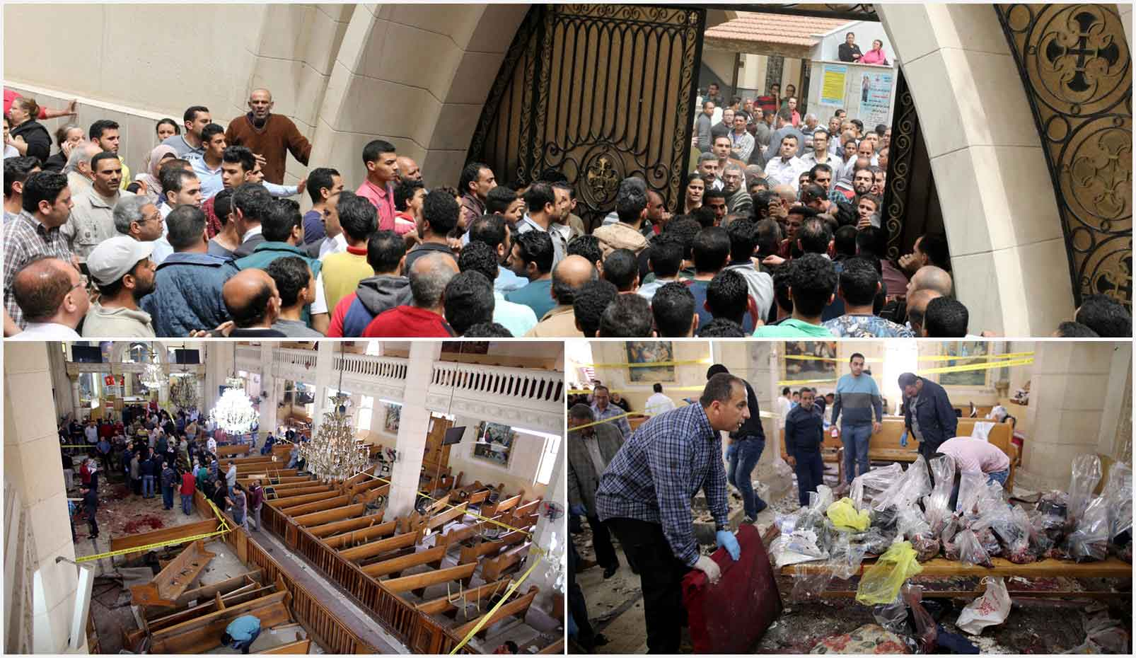 Attentato Chiesa Egitto Tanta Alessandria
