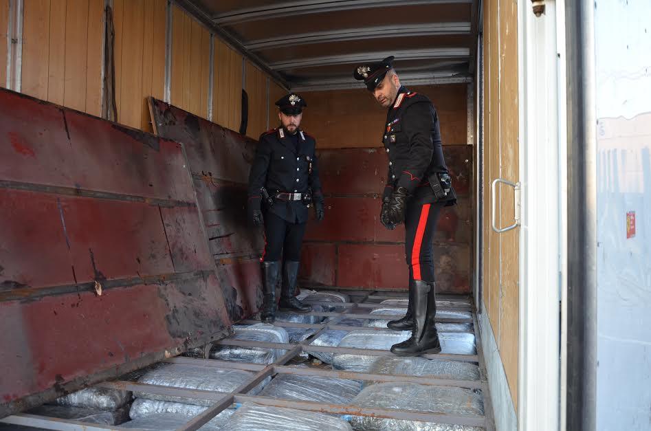 Carabinieri San Lazzaro marijuana