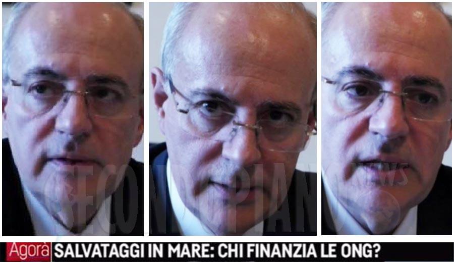 Il procuratore capo della Repubblica di Catania Carmelo Zuccaro ad Agorà