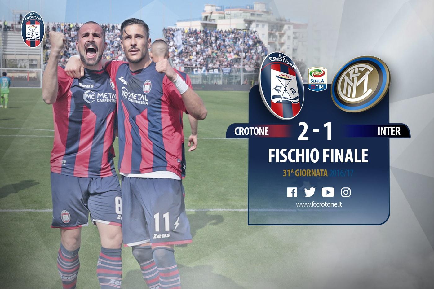 Crotone Inter 2-1