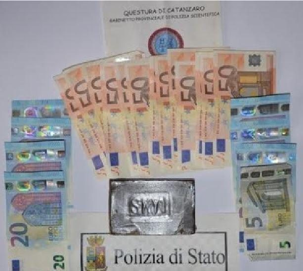 DENARO SEQUESTRATO POLIZIA CZ