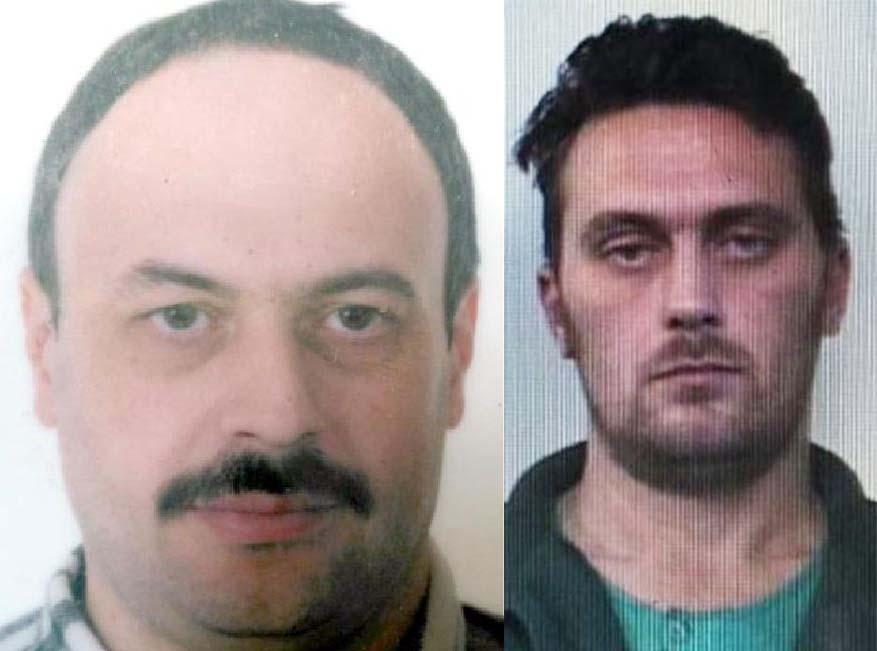 Da sinistra la vittima Davide Fabbri e il super ricercato Igor Vaclavic
