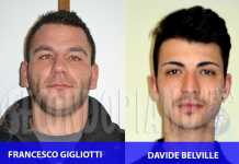 Davide Belville e Francesco Gigliotti
