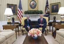 Gentiloni con Trump alla Casa Bianca