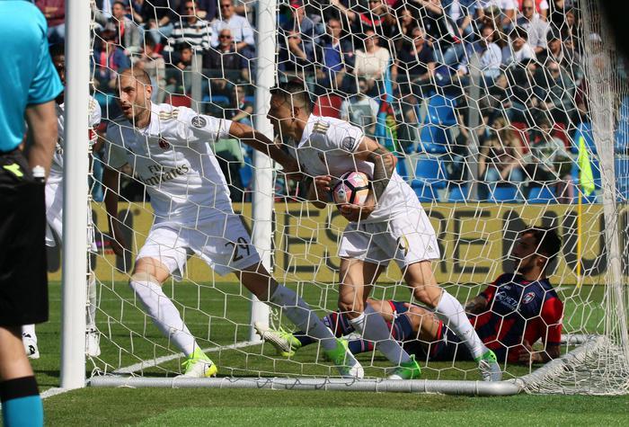 Crotone Milan 1-1