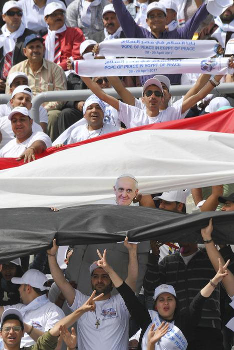 Papa Francesco in Egitto