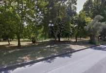 Il Parco Giorcelli a Quattromiglia di Rende indicato dalla ragazza quale luogo dov'è avvenuto il presunto stupro.