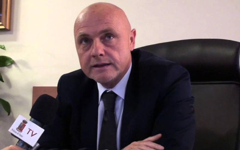 Il Questore di Reggio Calabria Raffaele Grassi