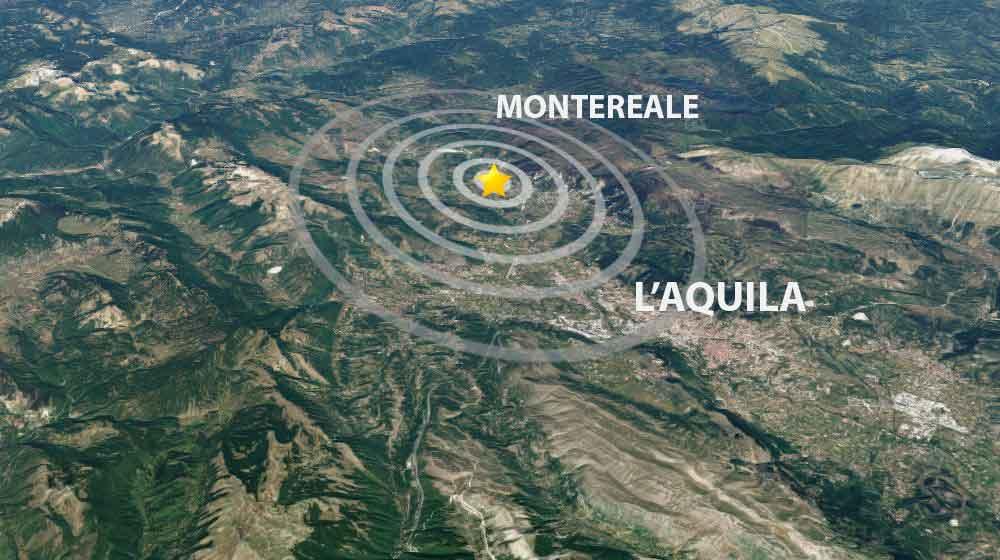 Terremoto Barete Montereale Aquila