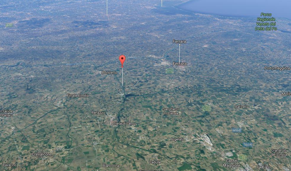 Terremoto in provincia di Modena e Ferrara: due scosse in poche ore