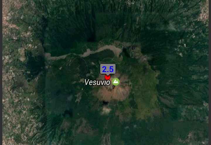 INGV / Terremoto a Massa di Somma, scossa alle pendici del Vesuvio