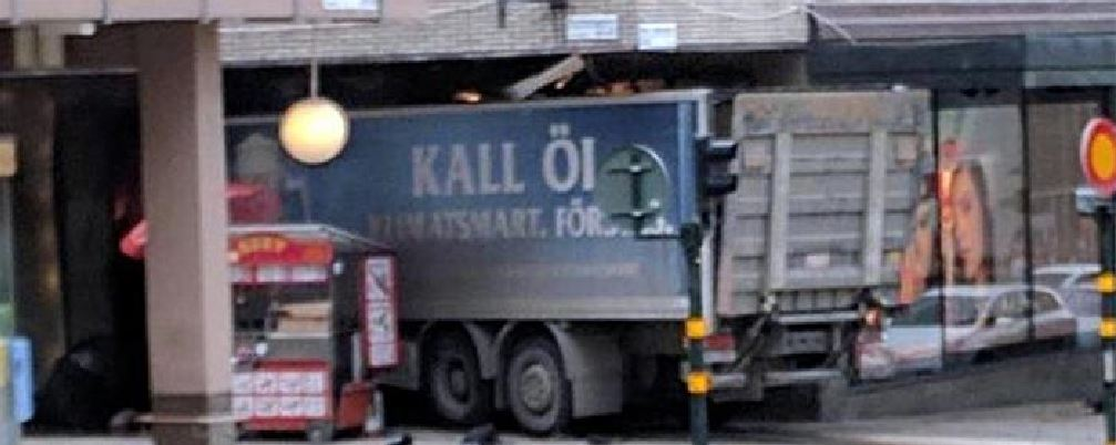 Il camion killer di Stoccolma