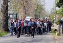 funerali di Emanuele Morganti
