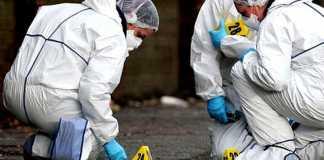omicidio polizia scientifica