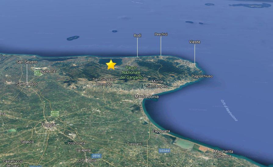 TERREMOTO / ore 6.25, 4° Richter in provincia di Foggia