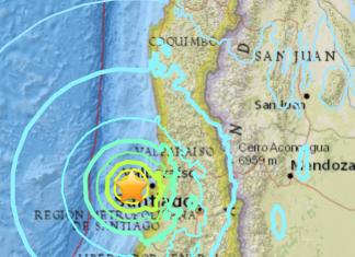 terremoto Cile Valparaiso Santiago-1