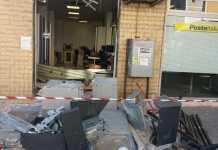 Rapina alla Posta di via Popilia, banditi asportano bancomat. In fuga