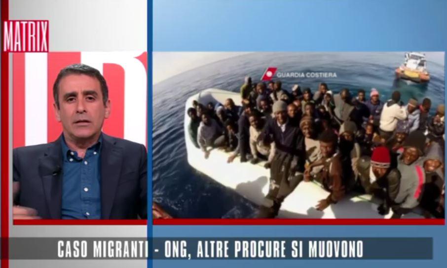 Carmelo Abbate mercoledì sera a Matrix su Ong-migranti