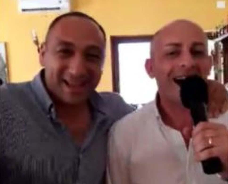 Celia canta con boss Lionetti