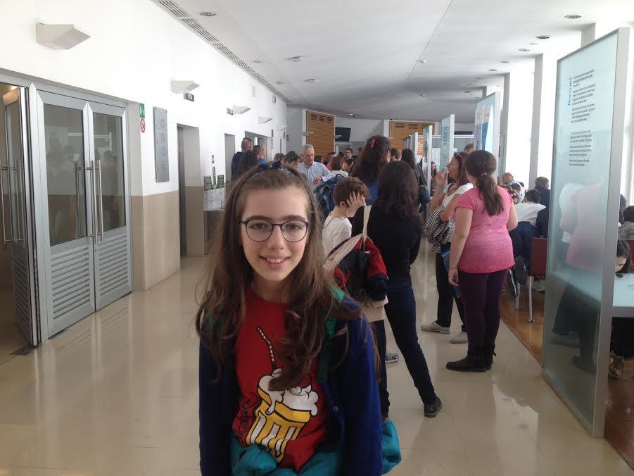La cosentina Claudia Montemurro, 10 anni, vicecampionessa italiana di giochi matematici jr.