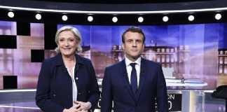 Marine Le Pen e Emmanuel Macron