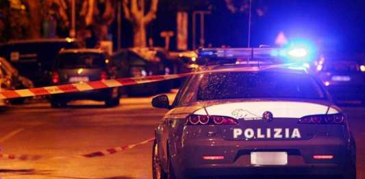 Polizia notte omicidio