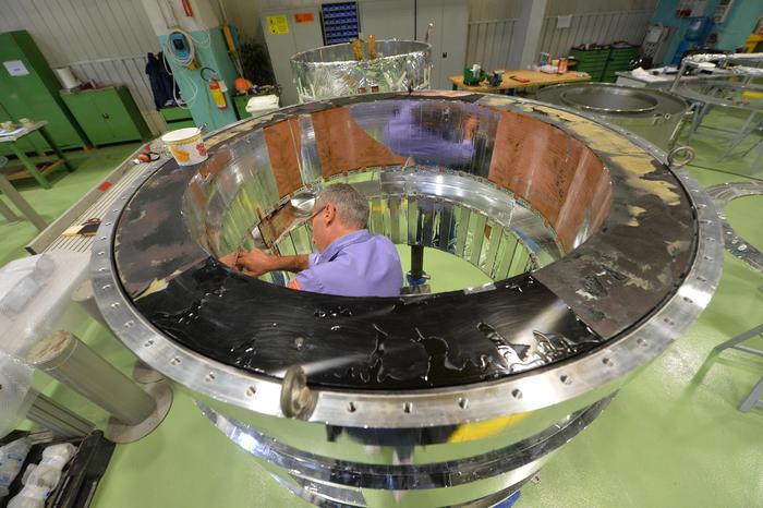 magnete reattore Iter