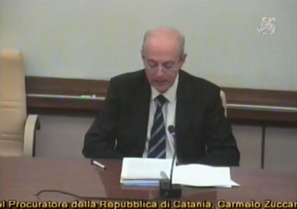 Carmelo Zuccaro davanti la commissione Difesa del Senato