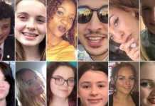 Alcune vittime della strage di Manchester