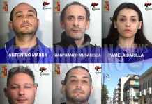 Le persone coinvolte nell'operazione Lampo a Reggio Calabria Gianfranco Musarella