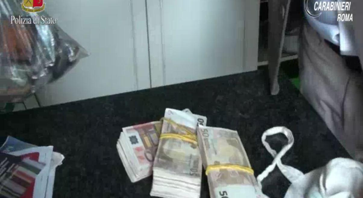 Usura e droga, quattro arresti a Roma