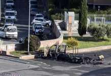 camper bruciato a roma, tre morti