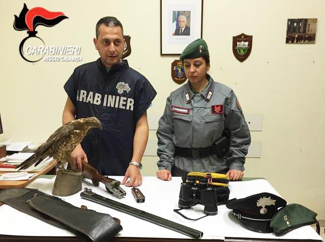 carabinieri forestali antibracconaggio