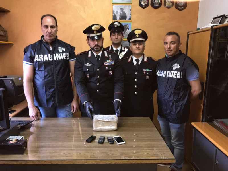 carabinieri roggiano san marco argentano cocaina