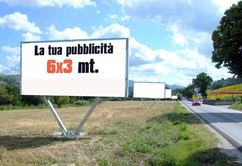 cartelloni 6x3 pubblicità