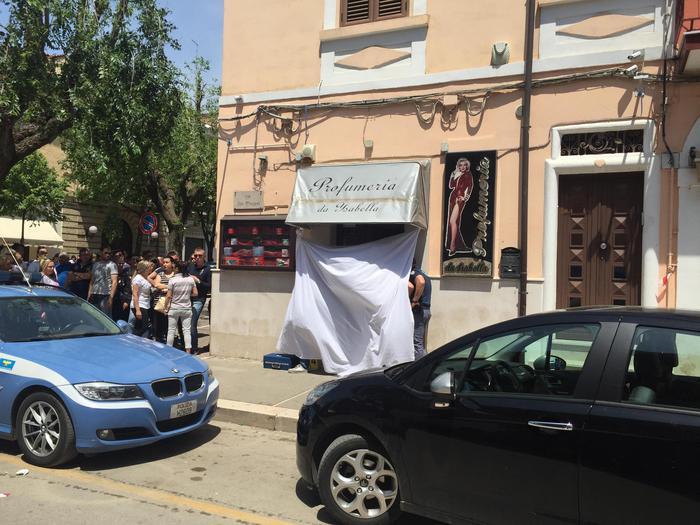 L'esercizio si San Severo dove marito e moglie sono stati trovati uccisi