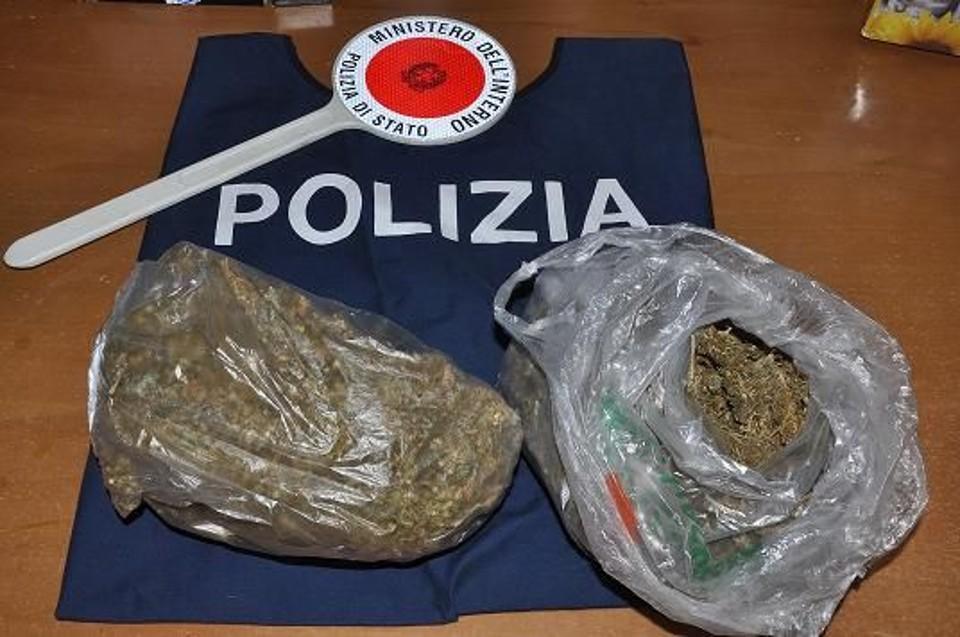Droga, la Polizia arresta due persone a Catanzaro