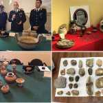 reperti archeologici recuperati da Tpc Cosenza