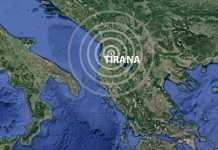 terremoto Albania Tirana