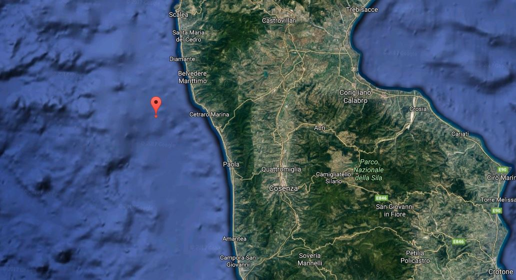 terremoto tirreno meridionale cetraro