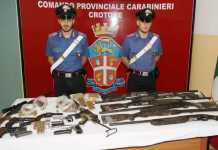 Armi munizioni Cutro