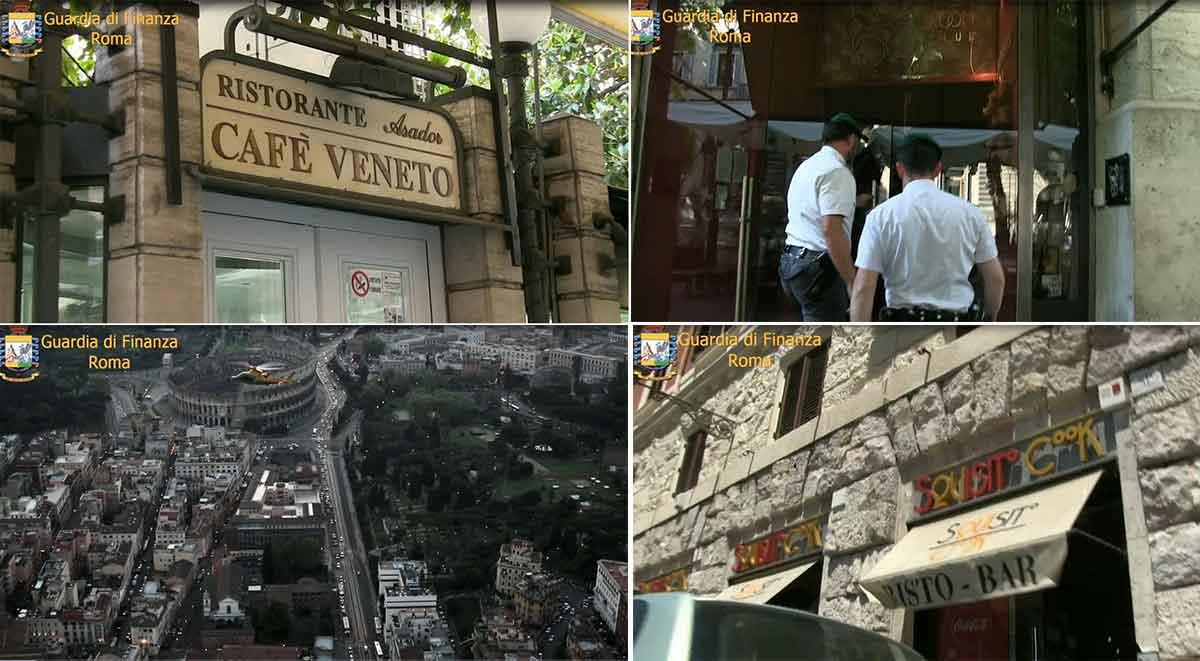 Cafe Veneto e altri locali sequestrati a aldo Berti