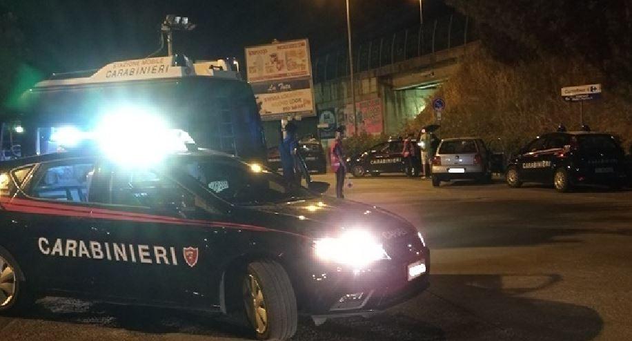 Controlli Carabinieri Rende