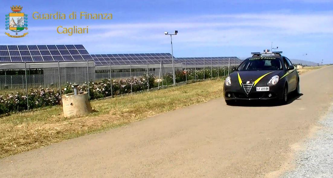 Fotovoltaico Guardia di finanza cagliari