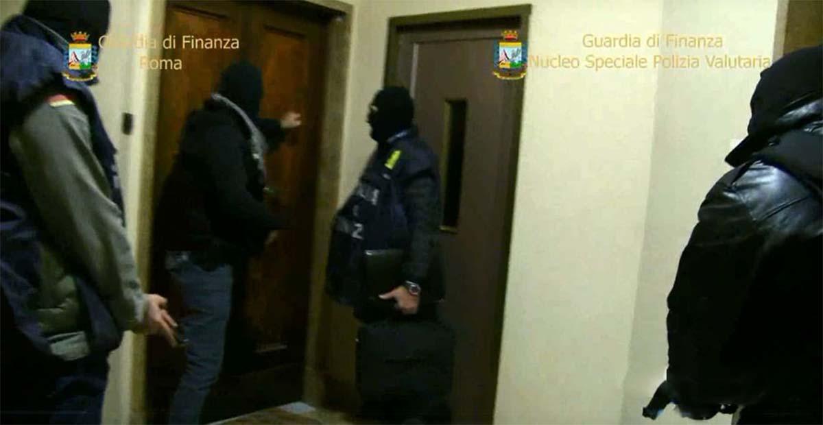 Guardia di Finanza GICO Roma