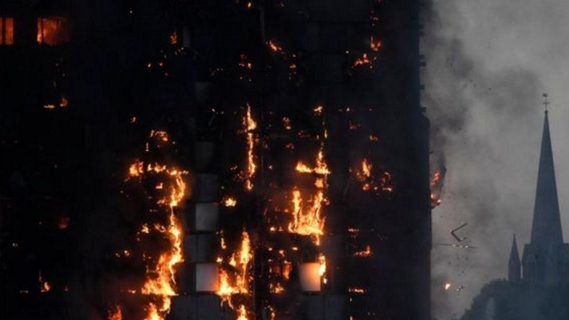 Incendio Grattacielo Londra