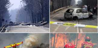 Incendio Pedrogao Grande Portogallo epa